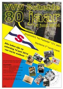 De Schelde 80jaar poster A3