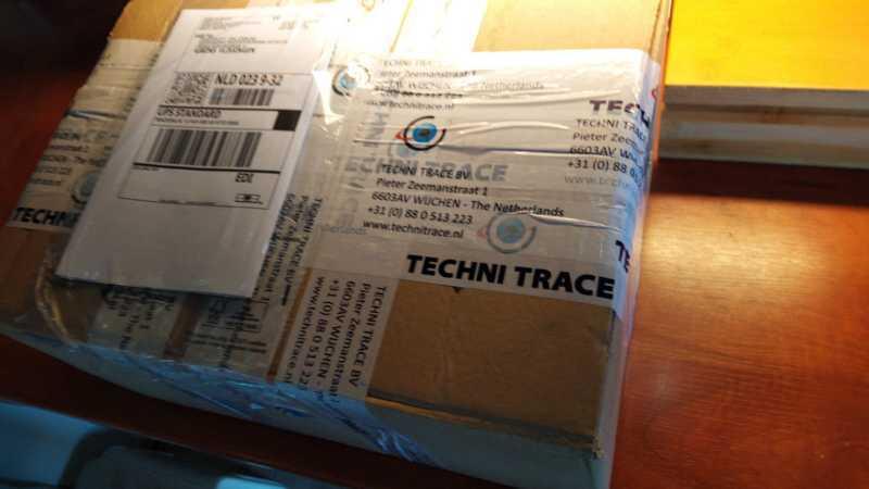 De track and trace kastjes zijn binnen
