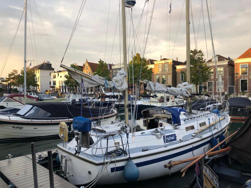 Mooie ochtend in Oud-Beijerland. 08:10 uur